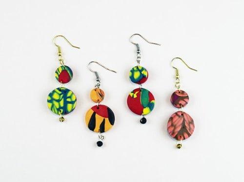 Apparel & Accessories by The Wavering Line - Artist: Ky Novak seen at Little Piece Of My Heart, Loveland - Duo Drop Earrings