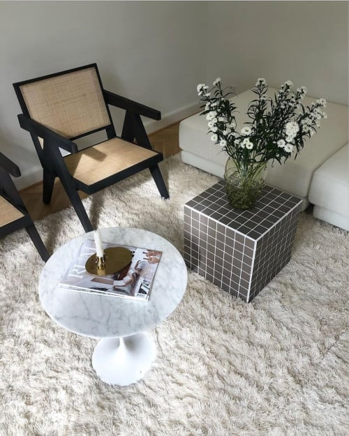 Tables by IKON KØBENHAVN seen at Private Residence, Copenhagen - Cube