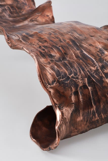 Benches & Ottomans by Conrad Hicks seen at Southern Guild, Cape Town - Copper Chaise II