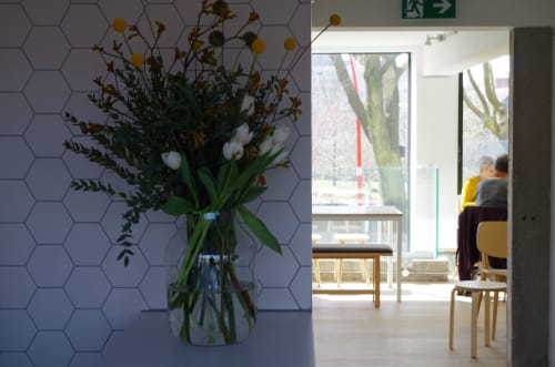 Floral Arrangements by Petalis seen at South Street Kitchen, Sheffield - Floral Arrangements