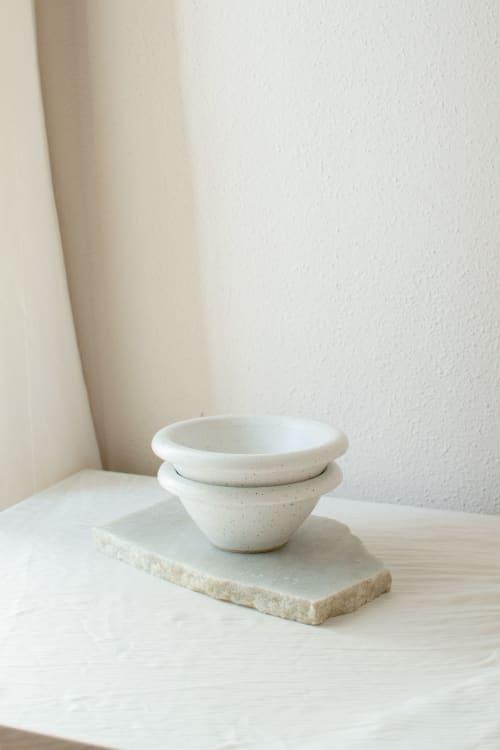 Ceramic Plates by Oema Ceramics seen at Private Residence, Barcelona - Stracciatella Bowl