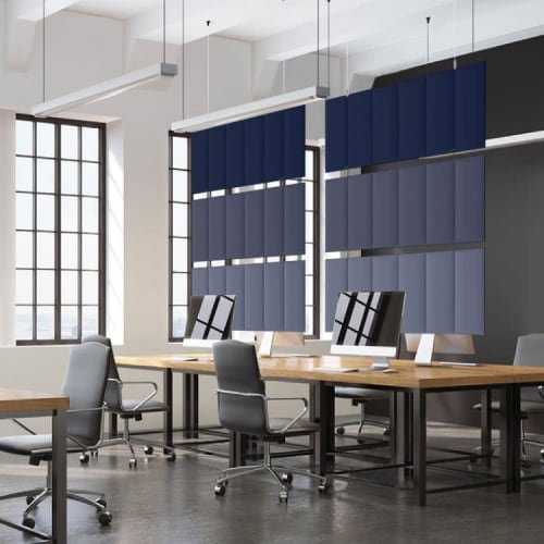 Wall Treatments by Peter Pepper Products seen at Compton, Compton - Slalom - Sound-Absorbing Panels