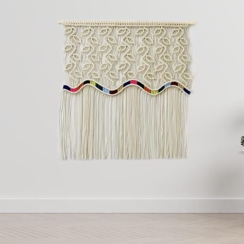 Rainbow | Macrame Wall Hanging by YASHI DESIGNS