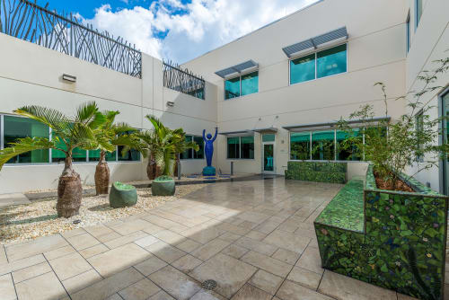 Public Mosaics by Carlos Alves & JC Studios at Private Residence, Fort Lauderdale - Zen Garden & Metamorphosis