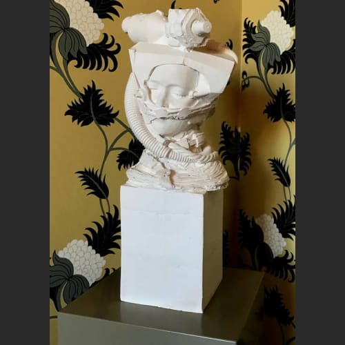 Sculptures by Kathy Dalwood seen at Hotel de Rome, Berlin - Astronaut