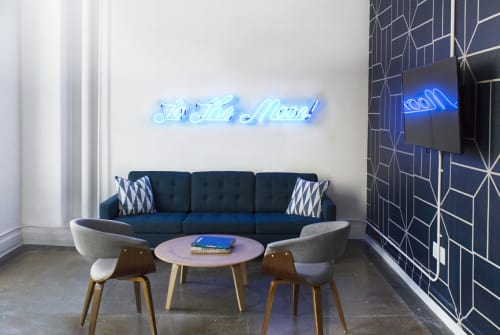 Interior Design by Gala Magrina Design seen at 5th Avenue, New York - Tech Office