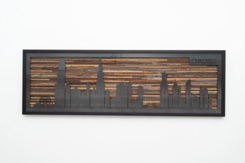 Chicago Skyline   Art & Wall Decor by Craig Forget   Cyl-Tec Inc in Aurora