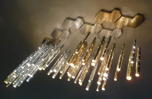 Chandeliers by ILANEL DESIGN STUDIO seen at Four Seasons Hotel Casablanca, Casablanca - Rain 7 Clouds Chandelier