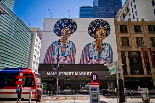Jasmine Zelaya - Street Murals and Murals