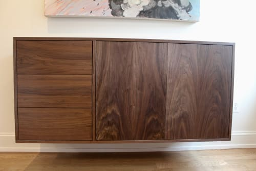 Furniture by Godet Woodworking seen at Private Residence - M Bar