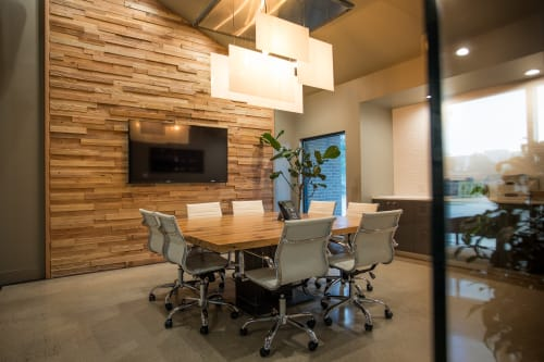 Interior Design by Timber & Beam seen at West Construction, Tulsa - West Construction
