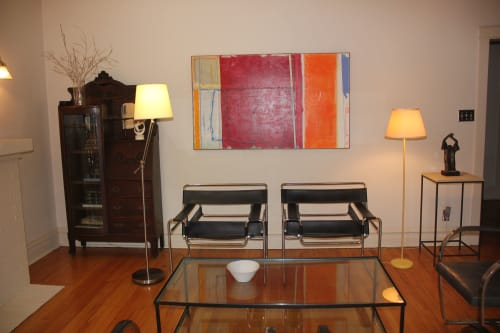 Paintings by Joey Korom seen at Private Residence, Chicago - Introspective Days