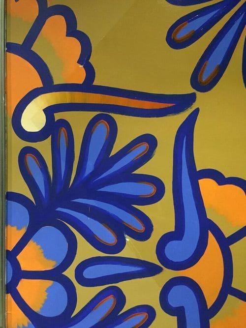 Murals by Natalie Fisk seen at Duane Street Hotel, New York - Murals