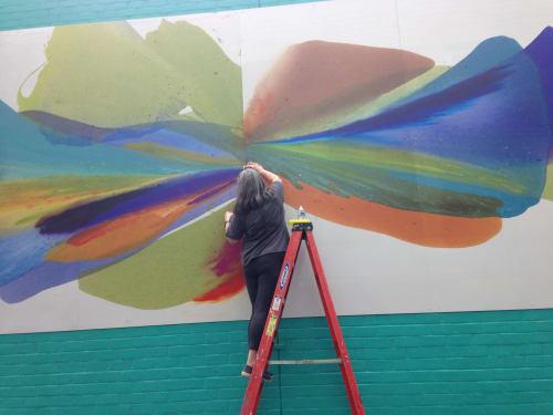 Barbara Januszkiewicz, Colorfield artist - Art and Street Murals