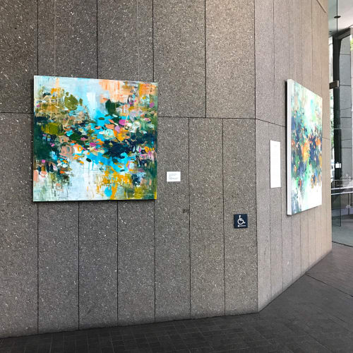 Paintings by Donaldson Fine Art seen at Fitch Ratings - San Francisco, San Francisco - Abstract Painting