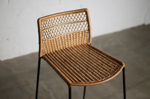Chairs by Tucurinca seen at Private Residence, Bogotá - Cubico Stool