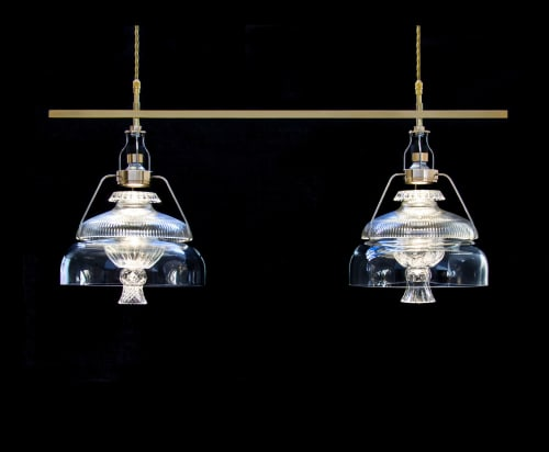 Pendants by Vitro Lighting Designs seen at Private Residence - Pendants Twin 24T