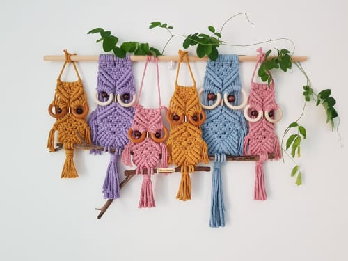 Ivy Lee - Macrame Wall Hanging and Apparel