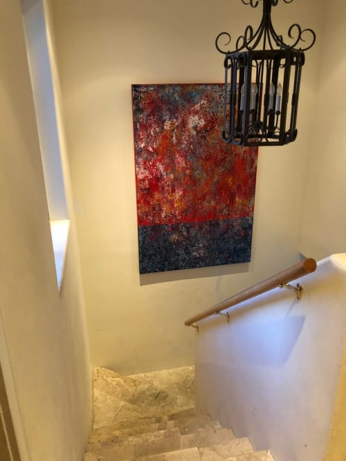 Paintings by Ariel Gold seen at Private Residence, San Francisco - Untitled