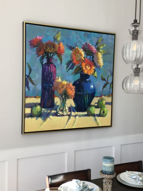 Art Curation by Trisha Adams seen at Private Residence, Denver - Collector's Dining Room