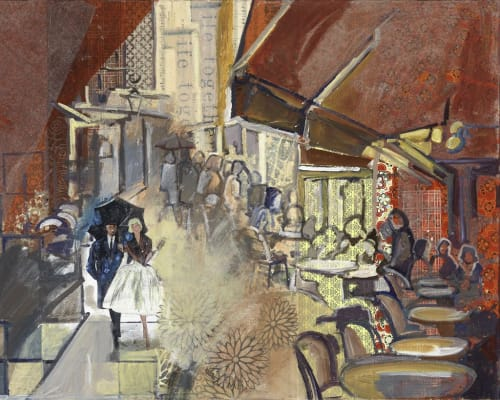 "Paintings by Marjolyn van der Hart - ""Time to Be"""