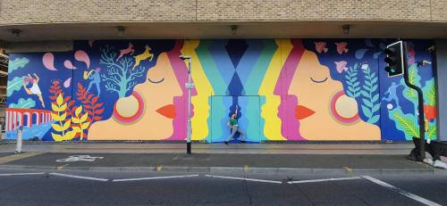 Zoe Power - Street Murals and Public Art