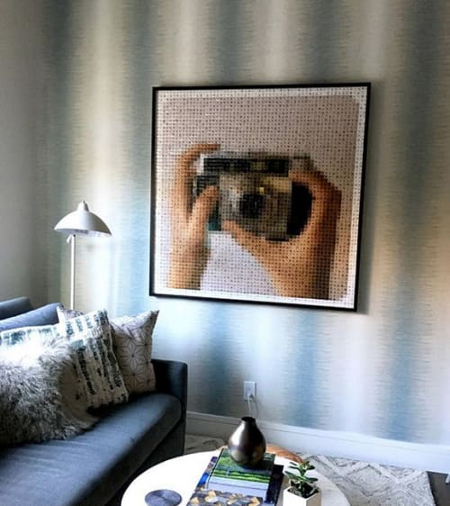 Photography by Pamela Stretton Fine Art seen at Private Residence, San Francisco - Instaselfie