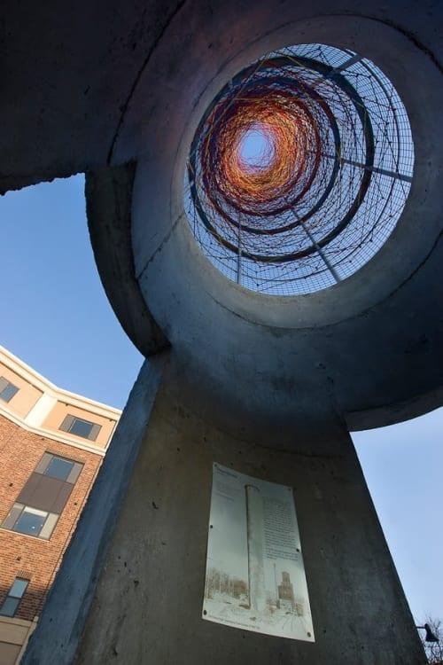 Public Sculptures by Randy Walker seen at St. Louis Park, St. Louis Park - Dream Elevator