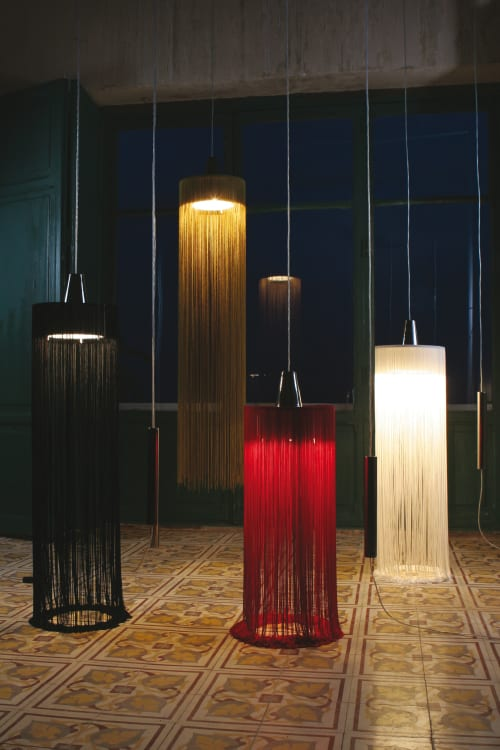 Pendants by Fambuena seen at Samaná Coruña, A Coruña - Swing pendant lamp