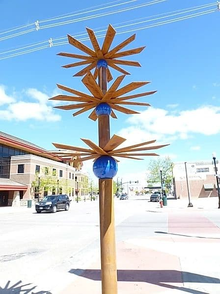 Public Sculptures by Sandy Friedman Sculpture seen at Pikes Peak Avenue, Parker - I'm Dreaming With My Brain Awake