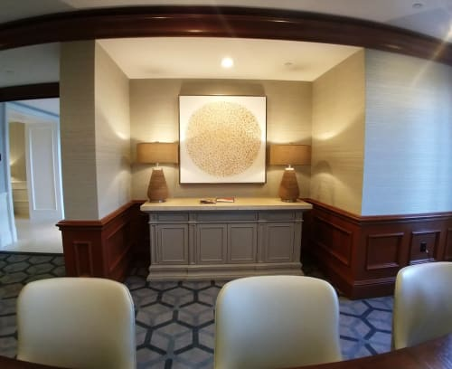 Art Curation by Melanie Grein seen at Vail, Vail - Ritz Carlton, Sarasota, FL Residences