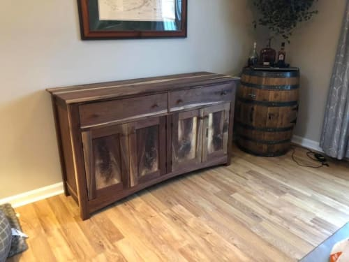 Furniture by Colonial Blade and Wood seen at Private Residence - Vine Grove, KY, Vine Grove - Walnut Brffet/Sideboard