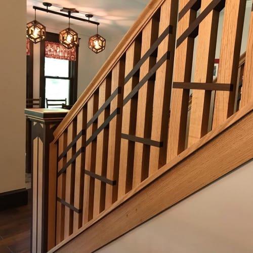 Architecture by Cosmic Builders Intergalactic llc seen at Private Residence, Cincinnati - Custom Carpentry