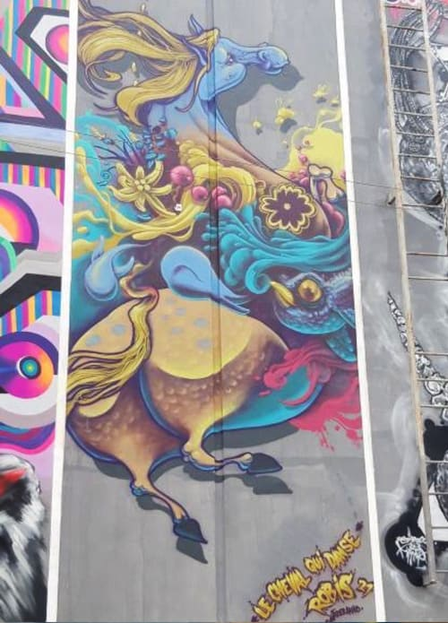 Murals by Robis21 seen at Smolensk, Smolensk - Meeting of Style