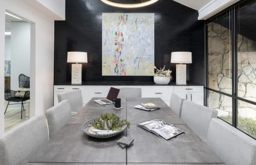 Paintings by Beth Gandy seen at Private Residence, Dallas - Abstract Painting
