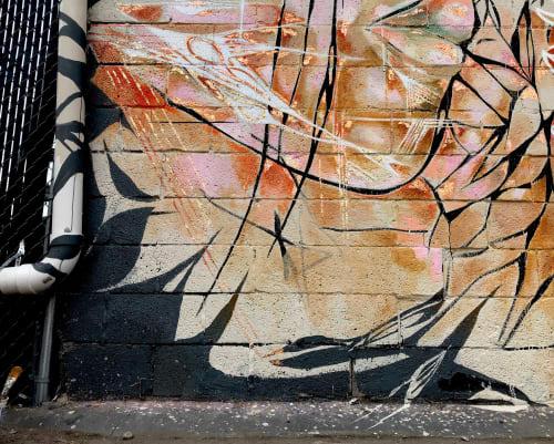 Street Murals by onerary :: Danielle DeRoberts seen at Modern Nomad, Denver - Modern Nomad Collaborative Mural
