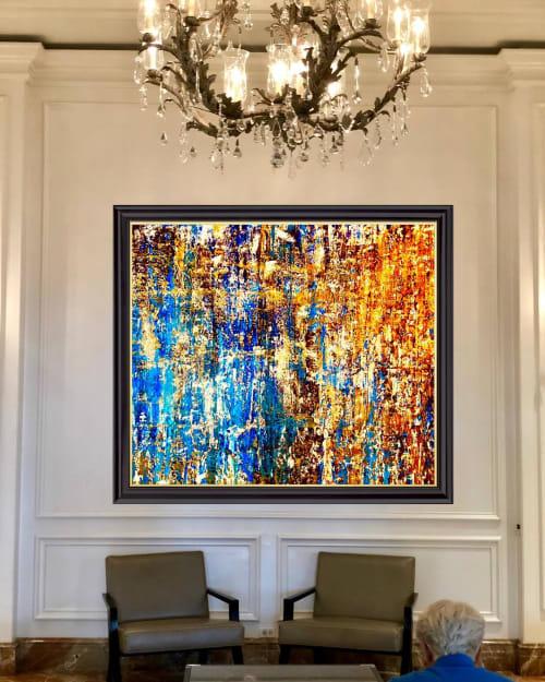 Paintings by David J. Marchi seen at Ritz Paris, Paris - Abstract Painting