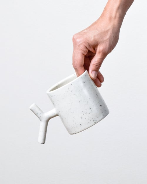 Cups by Stone + Sparrow seen at Private Residence, Pittsburgh - K-Grip Ceramic Mug