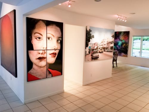 """Art & Wall Decor by Michael Janis seen at Private Residence, New York - """"Stasis"""""""