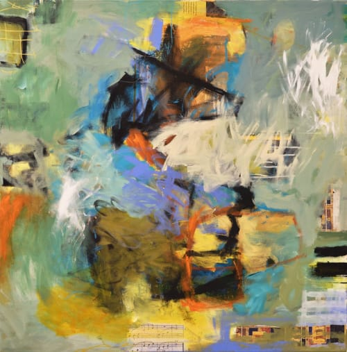 """Paintings by Abby Creek Studios - Paintings by Linda O'Neill seen at Boulder, Boulder - """"Serendipity"""""""