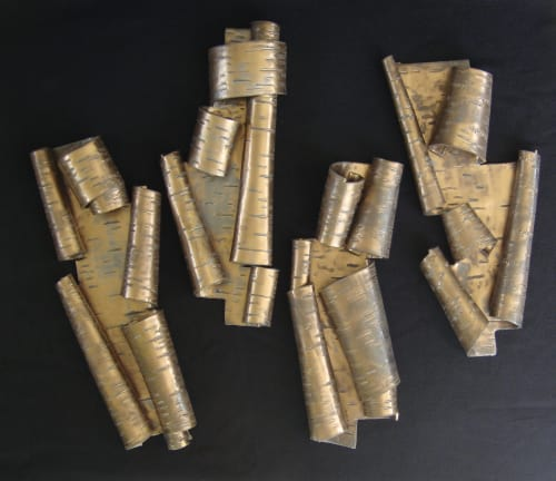 Art & Wall Decor by Lenore Rae Lampi seen at Minneapolis, Minneapolis - Scrolls in Bronze