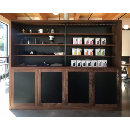 Furniture by Bolster Furniture seen at Heart (Woodstock), Portland - Heart Coffee Roasters - Woodstock