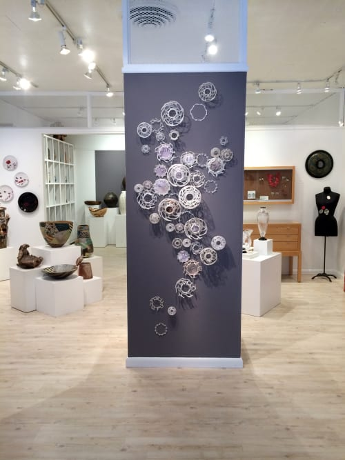 Sculptures by Leisa Rich seen at The Signature Shop & Gallery, Atlanta - Tolbachik's Cup Coral