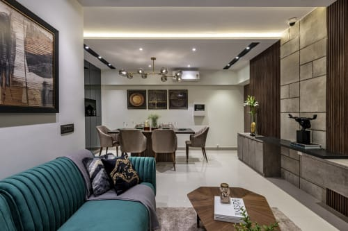 Interior Design by Traansformation Design Studio seen at Private Residence, Mumbai - Where Luxe meets Elegance