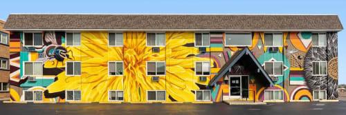 Katy Casper - Street Murals and Murals