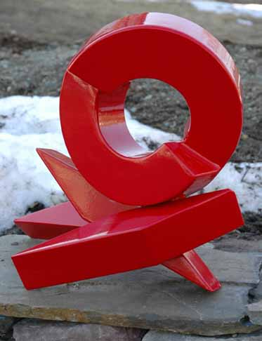 Sculptures by Rob Lorenson seen at Private Residence, Westport, Westport - Little Red Rhythm