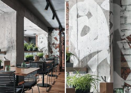 Interior Design by DA bureau seen at Kompaniya, Sankt-Peterburg - Kompaniya Restaurant