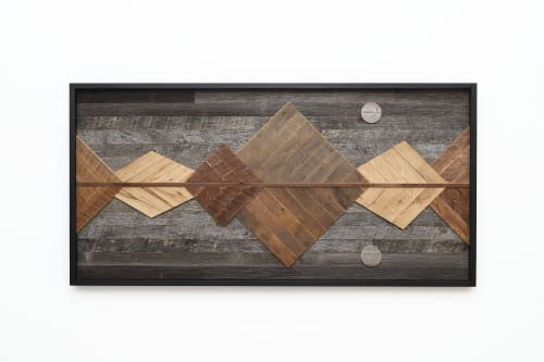 Mountain Reflection   Wall Hangings by Craig Forget
