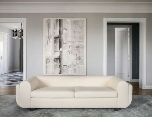 Couches & Sofas by CHARLOTTE BILTGEN seen at Private Residence, Paris - EILEEN SOFA