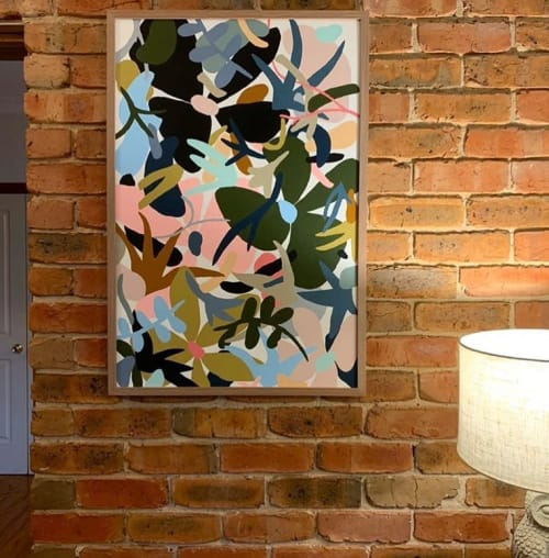 Paintings by Hayley Wills seen at Private Residence, Brisbane - Painting